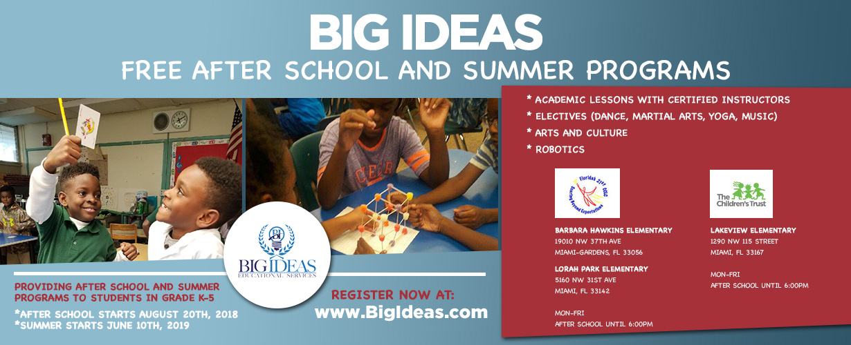 Big Ideas Educational Services Dedicated To Creating Successful